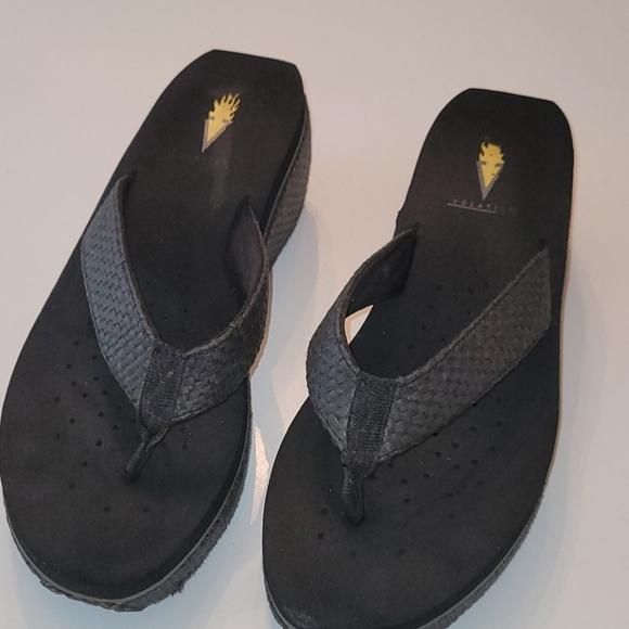 Volatile wedge sandals